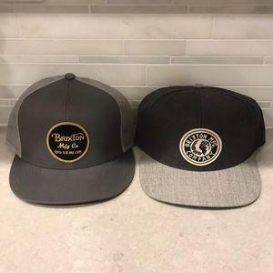 82befbade35 Brixton Accessories - Braxton supply co SnapBack hat bundle